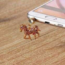 Противопылевая заглушка для телефона в форме лошади