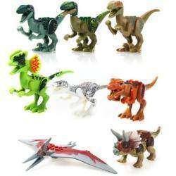 Обзор детского конструктора 'Динозавры из парка Юрского периода'