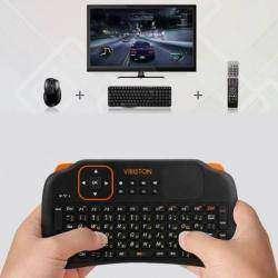 Беспроводная клавиатура с тачпедом - Viboton S1, с русскими буквами