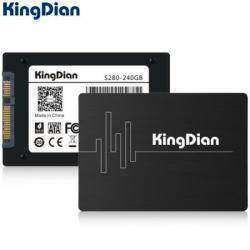KingDian S280-240GB SSD 2.5'', оснащенный интерфейсом SATA3
