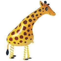 Большие надувные шарики от Gearbest - Миньон, шар жираф и цифры