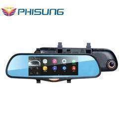 Зеркало-комбайн с огромным экраном (android, регистратор, GPS навигатор, камера заднего вида и др.)