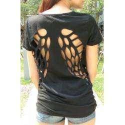 Женская футболка с крылышками
