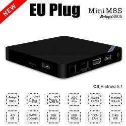 Mini M8S, неплохой маленький ТВ бокс на Amlogic S905