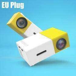 LCD проектор YG-300 компактный, яркий и недорогой для дома и бизнеса