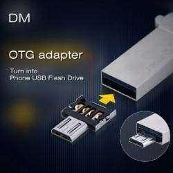 USB OTG адаптер DM