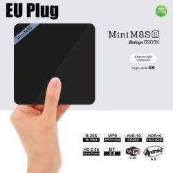 Обзор TV Box Mini M8S II - на Amlogic S905X и  Android 6.0