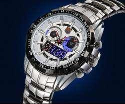 Tvg KM- 579  часы с двойным механизмом