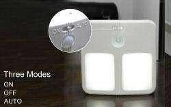 Автономный ночник с датчиками освещенности и движения