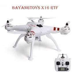 Самый дешевый квадрокоптер на БК моторах с камерой Bayangtoys X16
