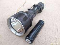 Бесшумный дальнобойный тактический фонарь Klarus XTQ2 XM-L2 U2 870Lm Waterproof 18650 / CR123A