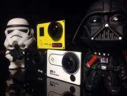 Экшен камера Amkov AMK7000S: 4К, 2.7К, FullHD 60fps, 720 120fps, Wi-Fi.