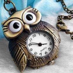 Часы в форме совы