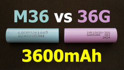 Сравнительный тест аккумуляторов LG M36 и Samsung 36G: 3600 мА·ч или все-таки нет?