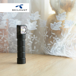 Обзор налобного фонаря Skilhunt H03R RC: магнитный хвост, встроенная зарядка и 900 люмен.