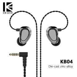Наушники KBEAR KB04 - красивые внешне, непростые внутри