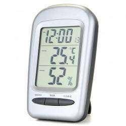 LCD Digital Термометр, гигрометр, часы, будильник.
