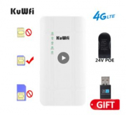 Уличный 3G/4G роутер KuWfi T-QC300K-3D