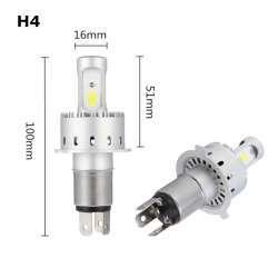 LED лампы с сюрпризом AutoLeader 7P с цоколем H4 в фары, которые удивили