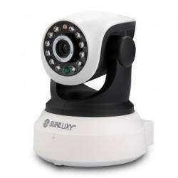 Антикризисная поворотная WiFi IP HD 720p камера Sunluxy с неожиданно отличным качеством картинки