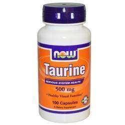 Таурин - аминокислота для поддержания нормального обмена веществ