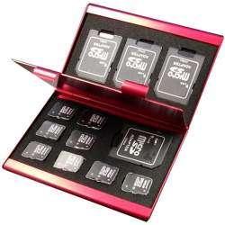 Холдер ( кейс ) для хранения microSD карт памяти и SD, MMC