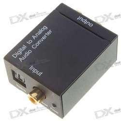 Конвертер S/PDIF в аналоговый стерео-сигнал.
