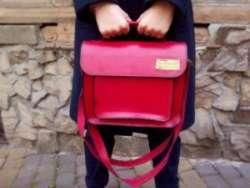 Кожаная сумка ручной работы Stella от мастерской Werewolf
