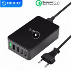 Обзор зарядки ORICO - много портов и QC2.0