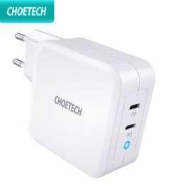 Обзор зарядки CHOETECH PD 100 Вт GaN Dual USB Type C