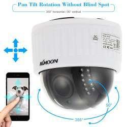 """KKMoon D77W 2.0MP 1/3"""" CMOS уличная IP камера с дистанционным вращением и оптическим зумом 2.8~12mm"""