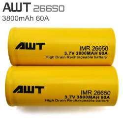 Проверяем реальную емкость аккумуляторов AWT 26650 3800mAh 60A