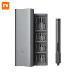 Электроотвертка Xiaomi Mijia для точных работ с регулировкой крутящего момента и набором из 24 прецизионных бит