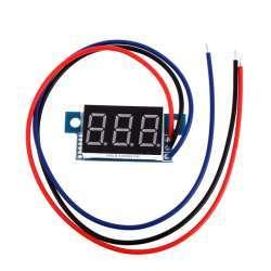 Еще одна 'полезняшка', мелкий вольтметр с пределом измерения 99,9 Вольт