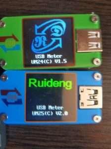 Продвинутые USB тестеры от RD (Ruideng) - UM24C VS UM25C