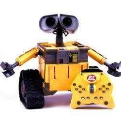 Робот-уборщик Валли который умеет танцевать и ждет свою Еву