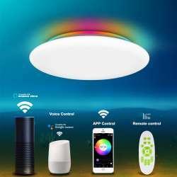 Потолочный смарт светильник Offdarks LXD-XG36 с пультом и RGB подсветкой