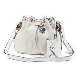 Женская сумка с 'кошельком' снаружи
