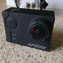 Неплохая экшен камера Andoer 4K. 4К, 1080p 120fps и стабилизация.