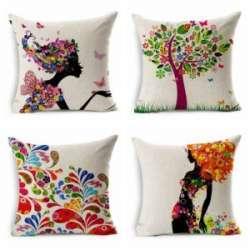 Декоративные наволочки на подушки с Алиэкспресса - мини обзор!