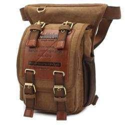Набедренная сумка из холста KAUKKO FH07