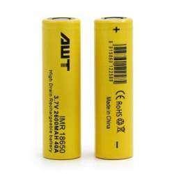 Обзор и тестирование высокотоковых аккумуляторов AWT 2600mAh, 40A, желтые