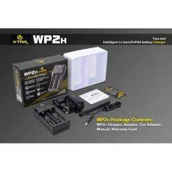 Универсальное зарядное устройство для литий-ионных аккумуляторов Xtar WP2H