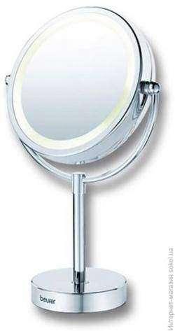 Обзор косметического зеркала для ухода за лицом  Beurer BS 69 с подсветкой