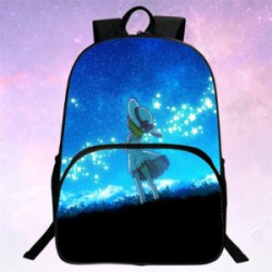 Сугубо девачковый рюкзак с принтом 'четвероногой' девочки