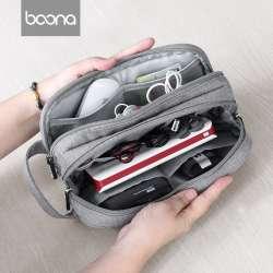 Сумочка Boona и кабель зарядки с TaoBao.