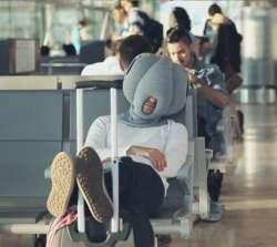 Подушка-страус для путешествий