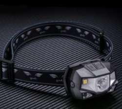 Налобный фонарь Goofy DT-7607 - пластиковый 'трешачок' с бесконтактным управлением