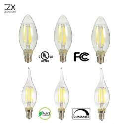 Обзор ZX Dimmable E14 LED 6W ламп