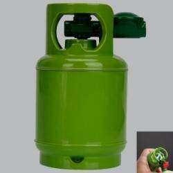 Мини обзор зажигалки в форме газового балона